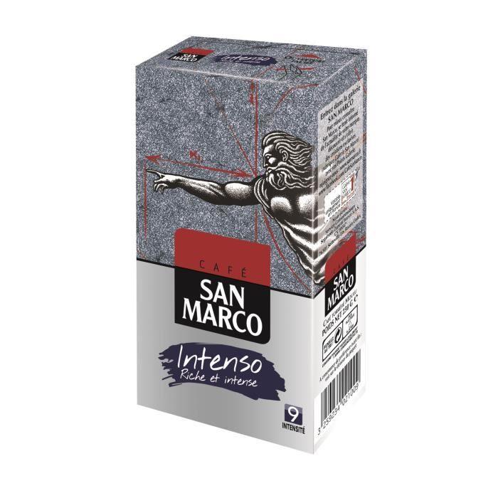 SAN MARCO Café Moulu Intenso N°9 - 250 g