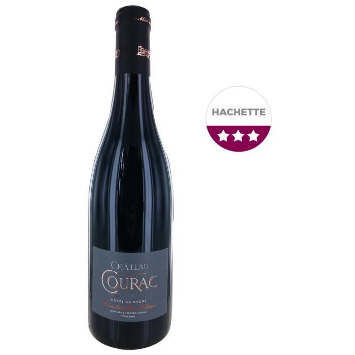 Château Courac 2017 Côtes du Rhône - Vin Rouge de la Vallée du Rhône