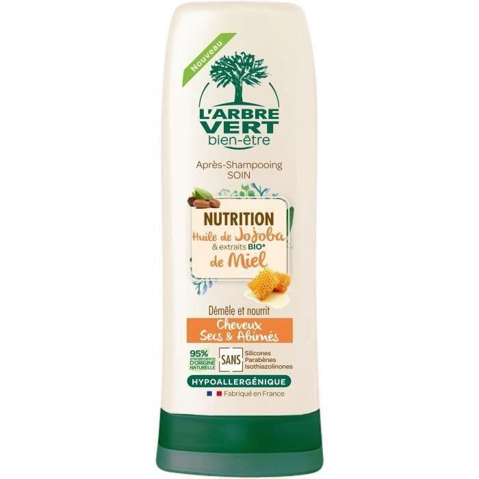 [LOT DE 3] L'ARBRE VERT BIEN-ÊTRE Après-Shampooing Nutrition - 200 ml