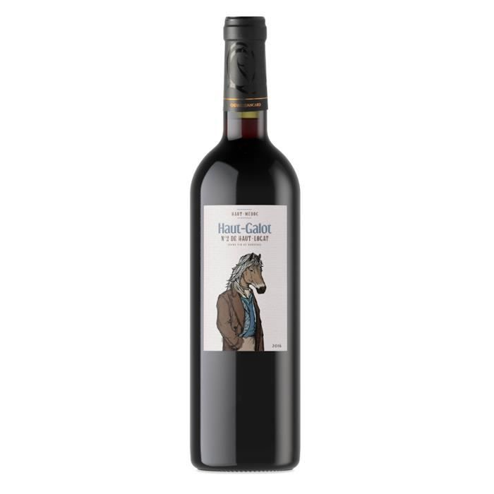 château Haut Galop 2016 Haut-Médoc - Vin rouge de Bordeaux