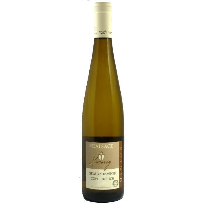 KOENIG GEWURZTRAMINER Cuvée Prestige 2016 Grand Vin d'Alsace Casher - Blanc - 75 cl