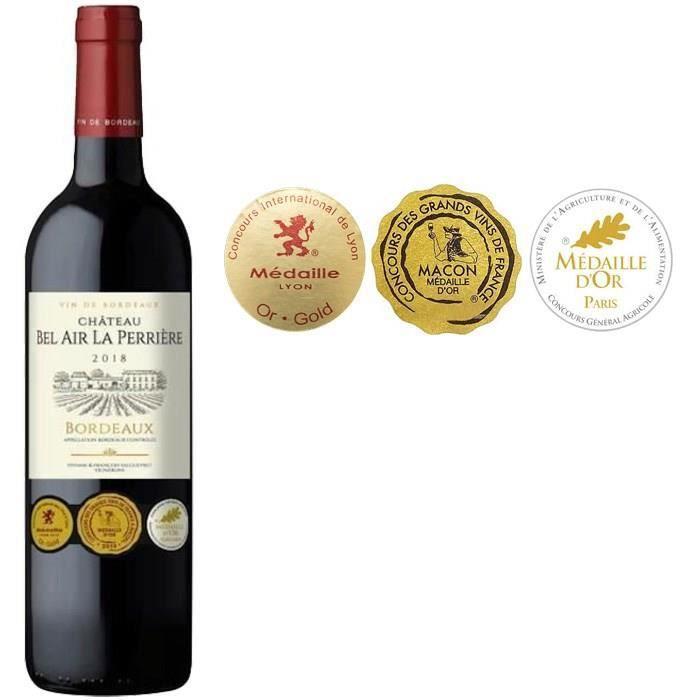 Château Bel Air La Perrière 2018 Bordeaux - Vin rouge de Bordeaux