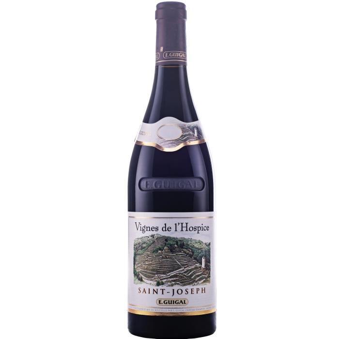 E. Guigal Vignes de l'Hospice 2017 Saint-Joseph - Vin rouge du Vallée du Rhône