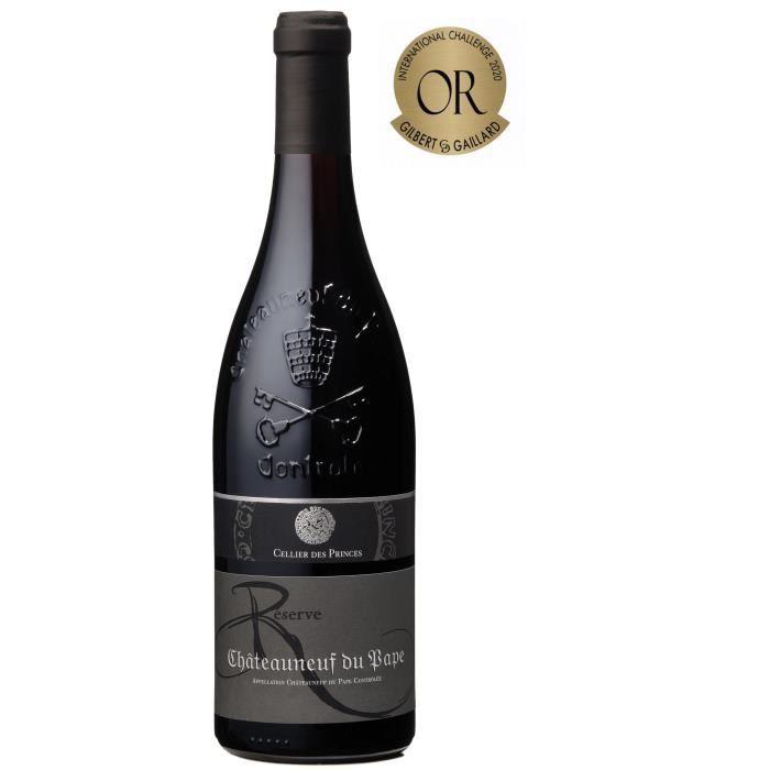 Cellier des Princes Réserve 2019 Châteauneuf du Pape - Vin rouge de la Vallée du Rhone