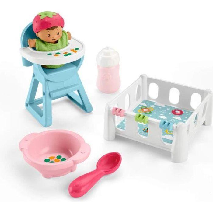 FISHER-PRICE Little People Babies L'heure du goûter et de la sieste - de 18 mois à 5 ans