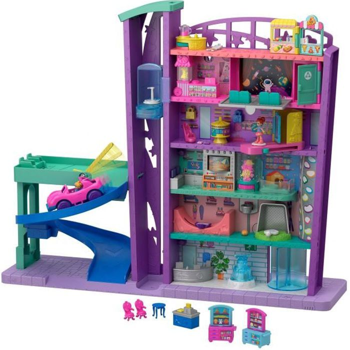POLLY POCKET Pollyville Le Centre Commercial