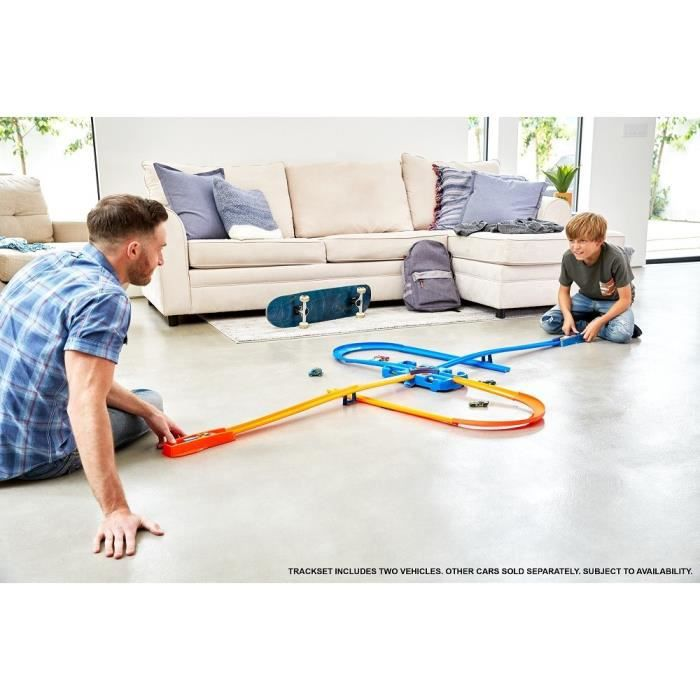 HOT WHEELS Track Builder Boîte de Construction Deluxe