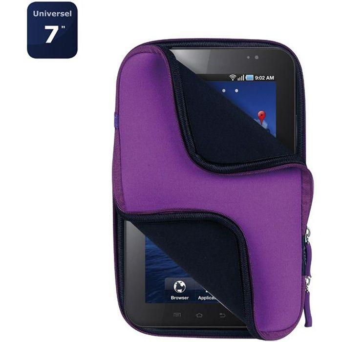 Housse tablette universelle 7- violet