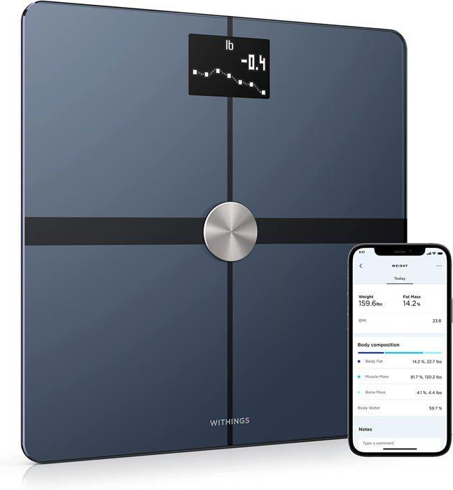 WITHINGS / NOKIA Body Plus – Balance Wi-Fi avec analyse de la composition corporelle  - Noir