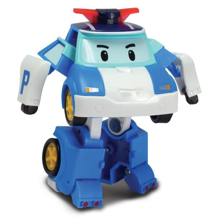 ROBOCAR POLI Figurine Transformable 8 cm Poli