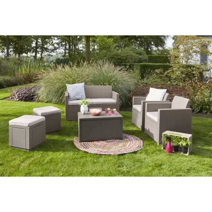 canape allibert jardin