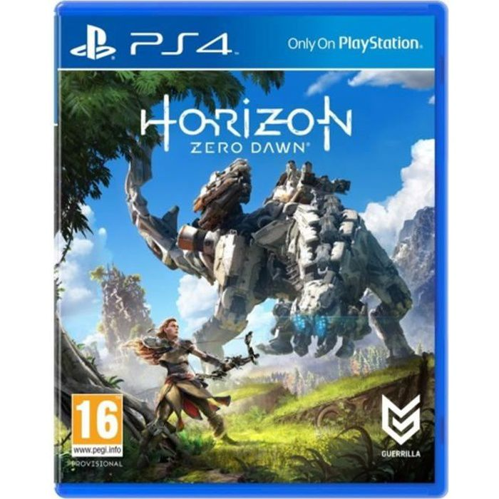 Horizon : Zero Dawn Jeu PS4