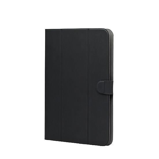 WE H-1050 Etui Universel Tablettes 9''/10'' Tpu 4 Attaches En Silicone Ajustables - Noir