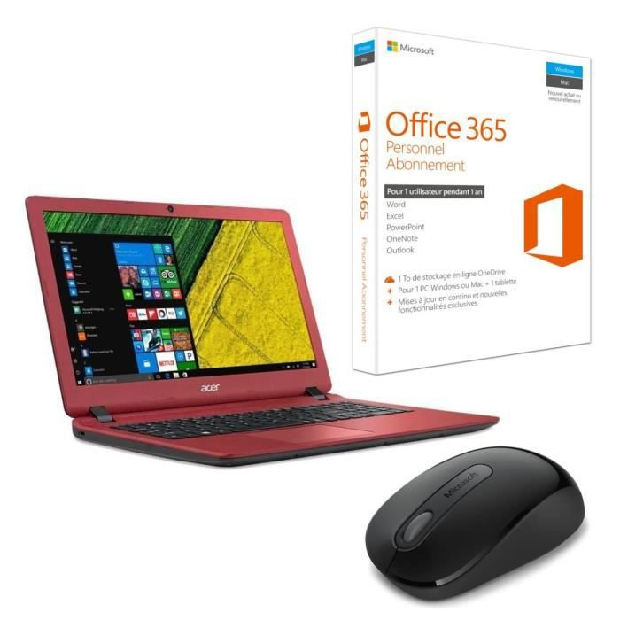 ACER PC Portable Aspire ES1-533-P4MZ 15,6\