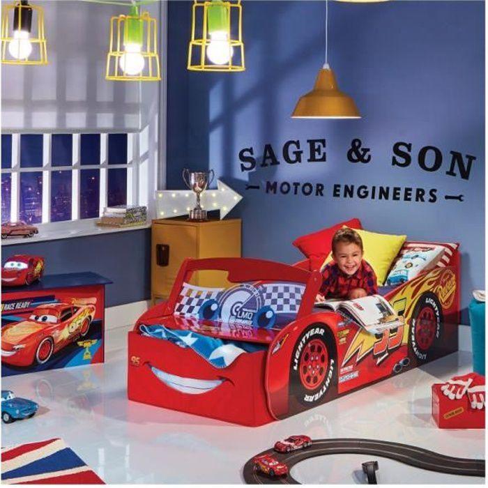 CARS Lit Enfant Lightning McQueen 70 x 140 cm