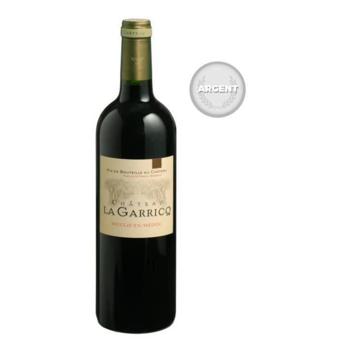 Château La Garricq 2007 Moulis-en-Médoc - Vin rouge de Bordeaux