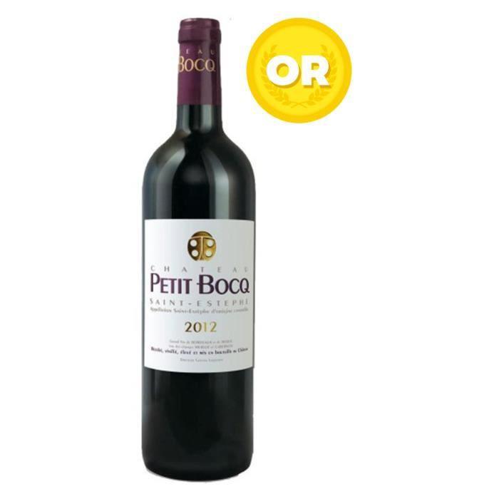 Château Petit Bocq 2012 - Vin rouge de Bordeaux