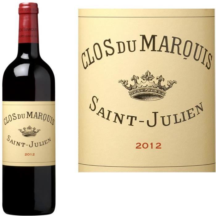Clos du Marquis 2012 Saint-Julien - Vin rouge de Bordeaux