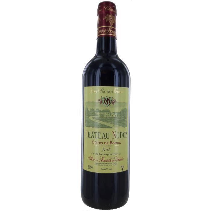 Château Nodoz Cuvée Barriques Neuves 2015 Côtes De Bourg - Vin Rouge de Bordeaux