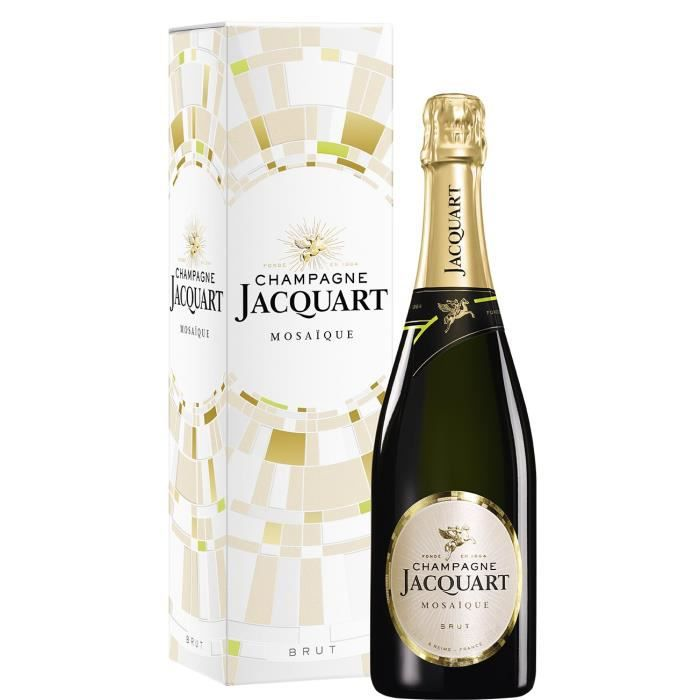 Champagne Jacquart Mosaïque Brut avec étui