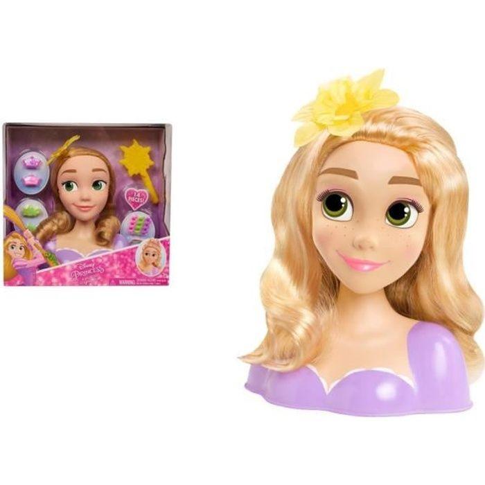 Disney Princesses - Tête à Coiffer - Raiponce