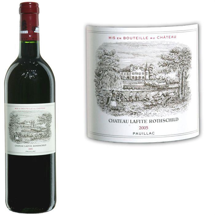 Château Lafite Rothschild 2005 Pauillac - Vin rouge de Bordeaux