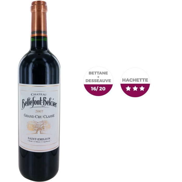 Bellefont Belcier 2007 Saint Emilion Grand Cru - Vin rouge de Bordeaux