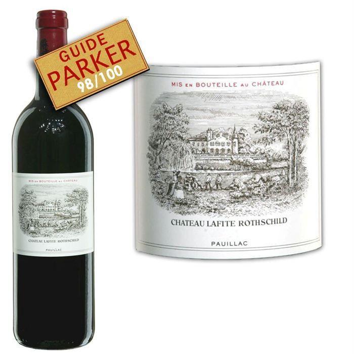 Château Lafite Rothschild 2008 Pauillac - Vin rouge de Bordeaux