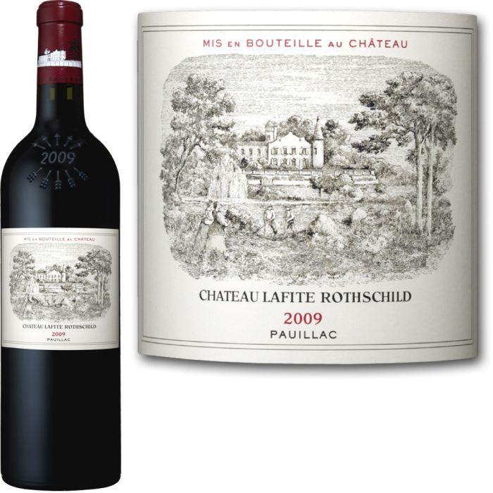 Château Lafite Rothschild 2009 Pauillac - Vin rouge de Bordeaux