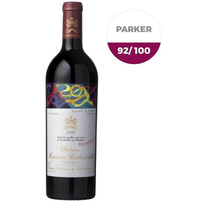 Château Mouton Rothschild 2011 Pauillac - Vin rouge de Bordeaux