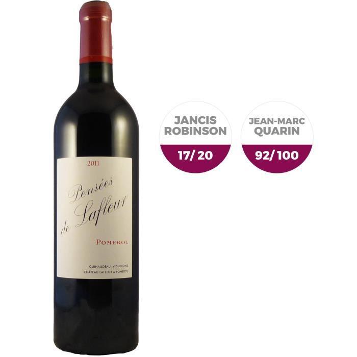 Pensées de Lafleur 2011 Pomerol - Vin rouge de Bordeaux