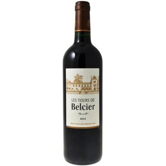 Château Tours de Belcier 2012 Saint-Emilion - Vin rouge de Bordeaux