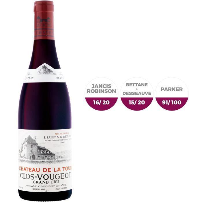Château de La Tour 2012 Clos Vougeot Grand Cru - Vin rouge de Bourgogne