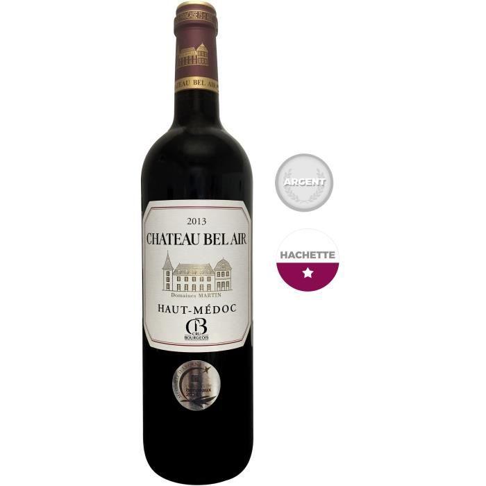 Château Bel Air 2013 Haut Médoc Cru Bourgeois - Vin rouge de Bordeaux