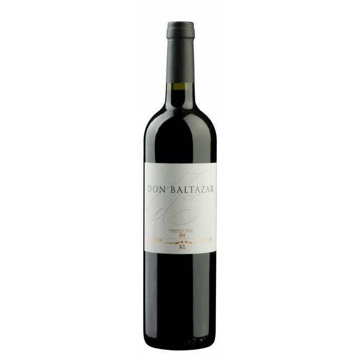 DON BALTAZAR Cabernet Franc Vin d'Amérique du Sud - Rouge - 75 cl