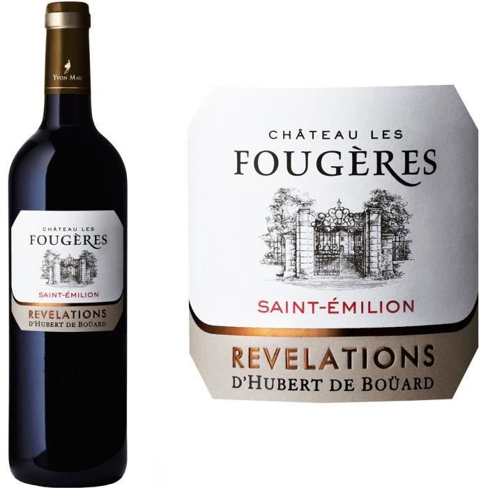 Château Les Fougères 2013 Saint Emilion - Vin Rouge de Bordeaux