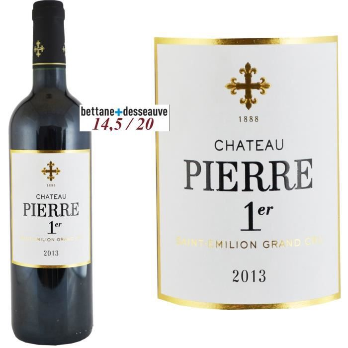 Château Pierre 1er 2013 Saint Emilion - Vin rouge de Bordeaux