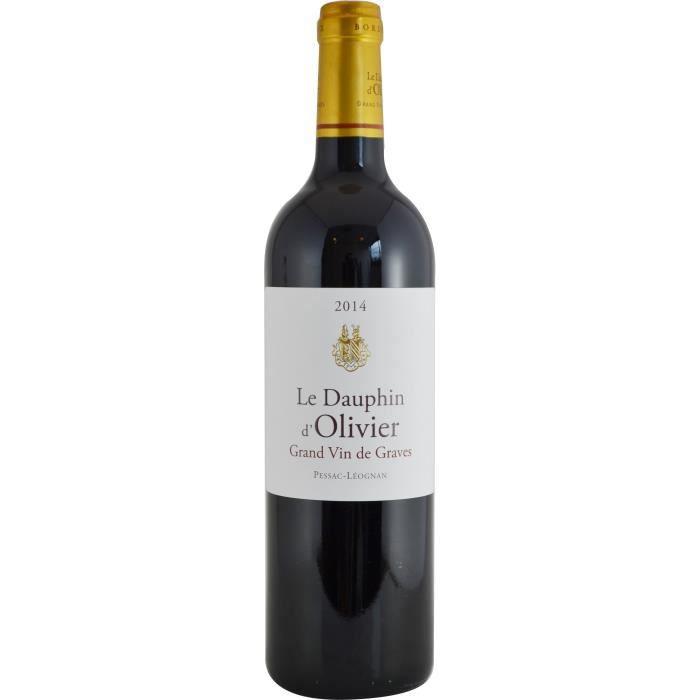 Dauphin d'Olivier 2014 Pessac Léognan Grand Cru - Vin rouge de Bordeaux