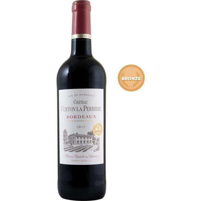 Château Curton La Perrière 2015 Bordeaux - Vin rouge de Bordeaux