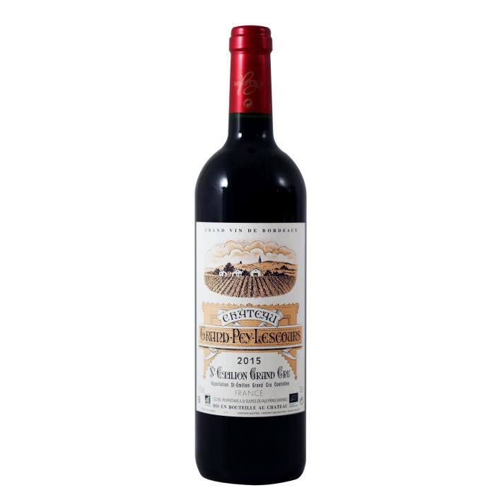Château Grand Pey Lescours 2015 Saint-Emilion Grand Cru - Vin Rouge du Bordelais