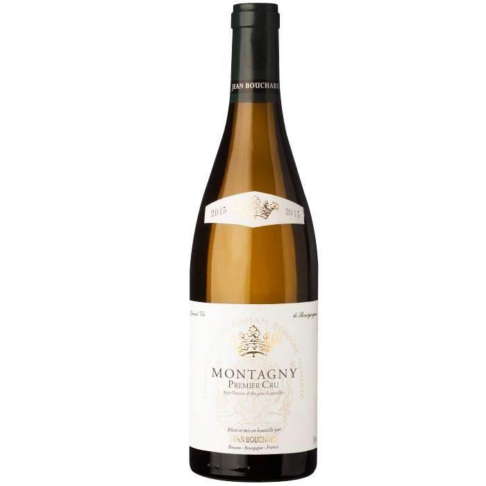 Jean Bouchard 2015 Montagny 1er Cru - Vin blanc de Bourgogne