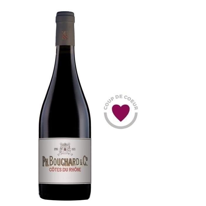 Bouchard & Cie 2018 Côtes du Rhône - Vin rouge de la Vallée du Rhône