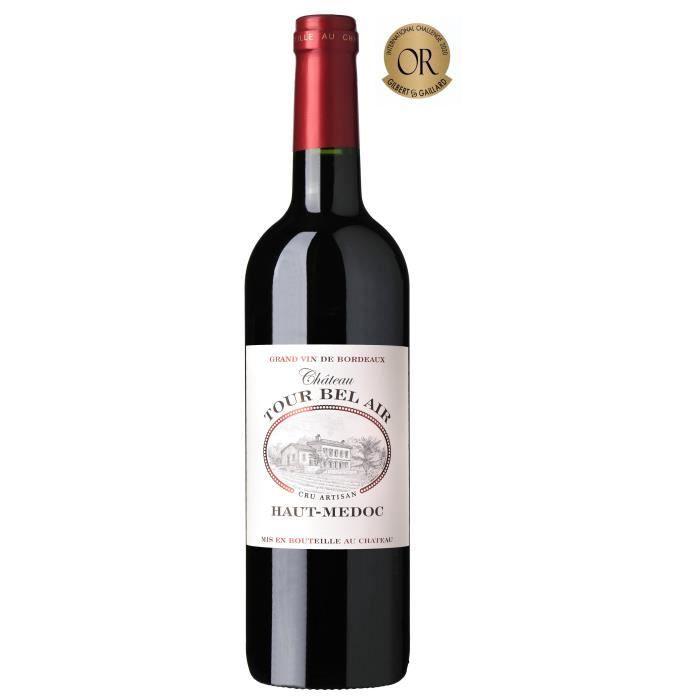Château Tour Bel Air 2017 Haut Médoc Cru Artisan - Vin rouge de Bordeaux
