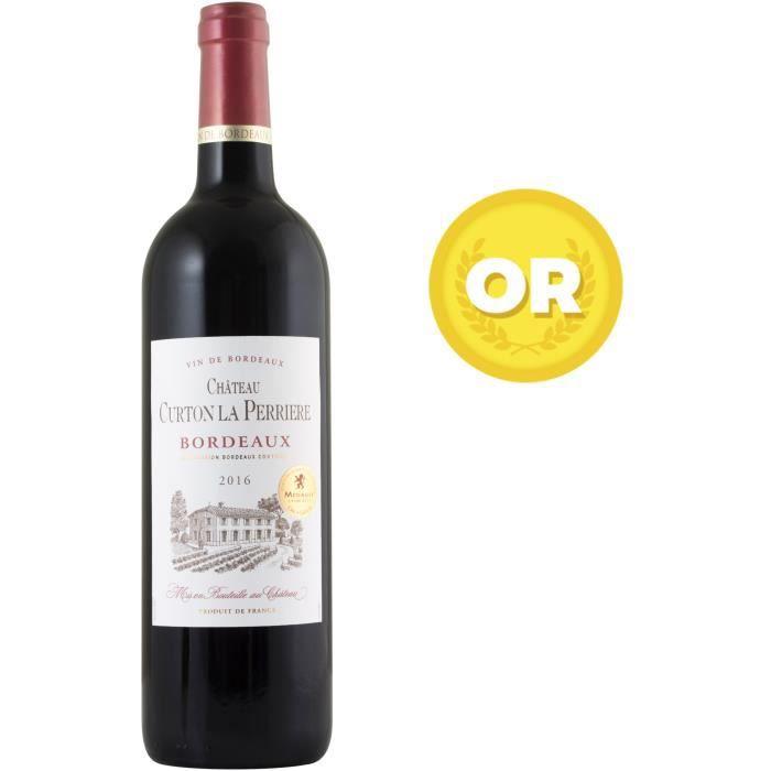 Château Curton La Perriere 2016 Bordeaux - Vin rouge de Bordeaux