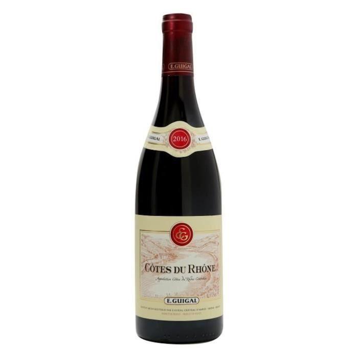 E. Guigal 2016 Côtes-du-Rhône - Vin rouge de la Vallée du Rhône