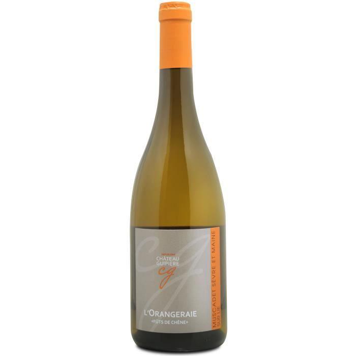 Château Guipière L'Orangeraie 2016 Muscadet Sèvre et Maine sur Lie - Vin blanc de Loire