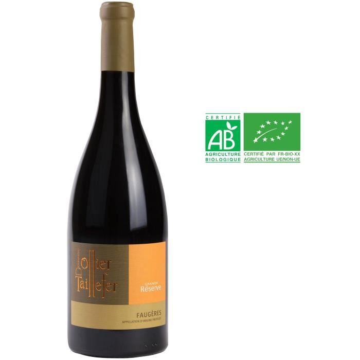 Domaine Ollier Taillefer Grande Réserve 2016 Faugères - Vin rouge de Languedoc - Bio