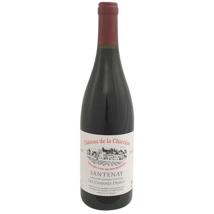 Château Charrière 2017 Santenay Charmes Dessus - Vin rouge de Bourgogne