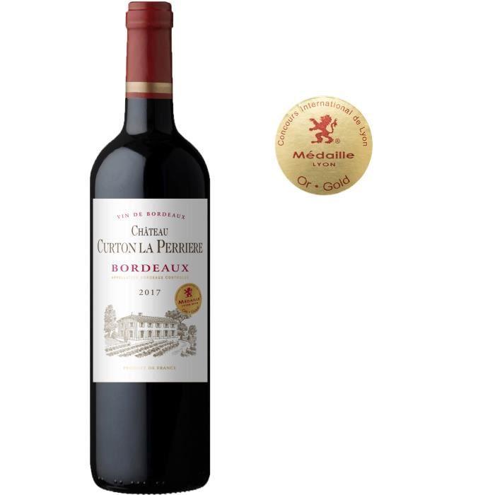 Château Curton La Perrière 2017 Bordeaux - Vin rouge de Bordeaux