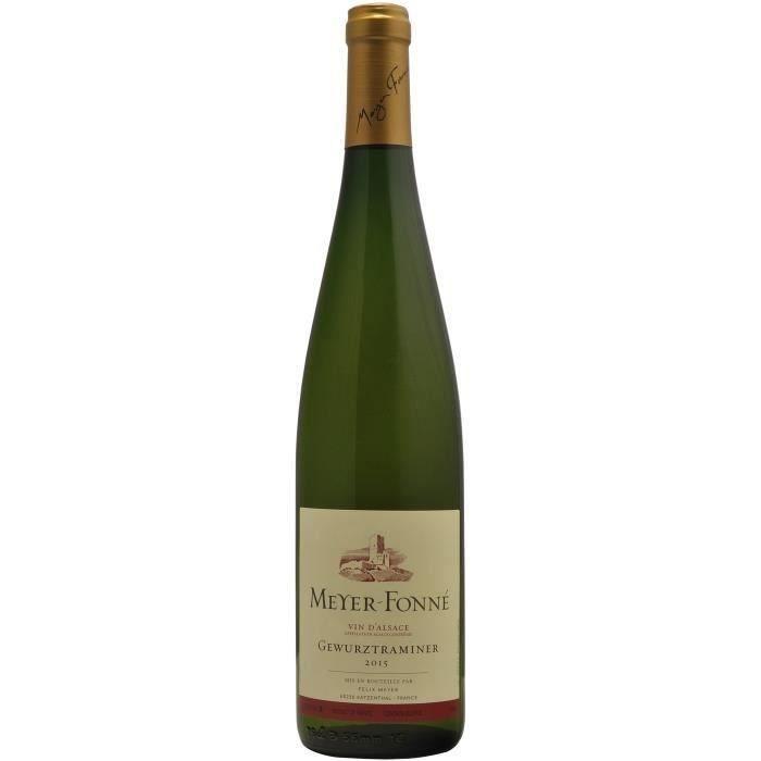 Félix Meyer 2017 Gewurztraminer - Vin blanc d'Alsace